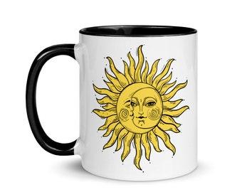 Good Morning Sunshine Mug with Black Inside