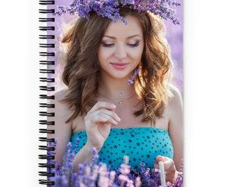 Dreamy Lavender Bullet Journal - Spiral Notebook