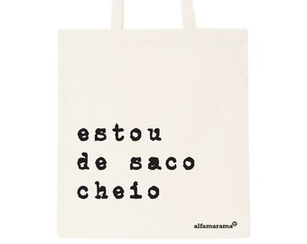Portuguese tote bag - 'canvas is the new leather' totes; Bag; Beach bag; shopping bag; handbag; purse; cool bag; designer bag;