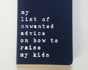 Baby Shower gift; Notebook; New baby; Mother gift Father gift; Mum gift; Mom gift; Dad Gift; Parent gift; Parenting; Moleskine; Blue