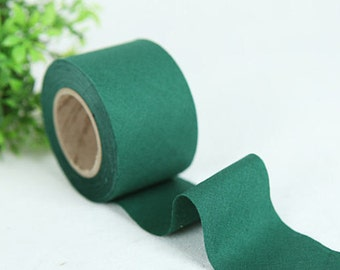 4 cm New Solid Series Cotton Bias - Evergreen - 10 Yard roll - 81447-034
