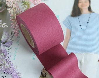 4 cm New Solid Series Cotton Bias - Hawthorn Rose - 10 Yard roll - 81444-019