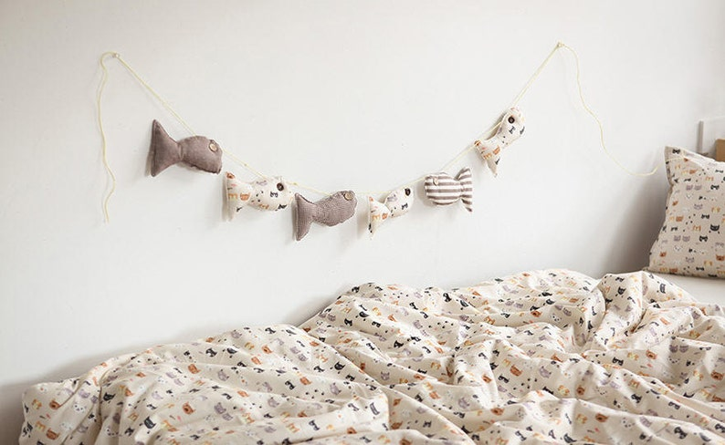 Cats Cotton Fabric Meow Meow By the Yard 85472
