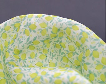 Lemons Cotton Double Gauze Fabric - 59 Inches Wide - By the Yard 92521