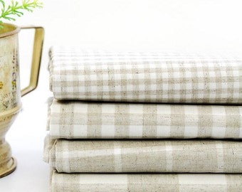Laminated Linen Blend Waterproof Fabric By the Yard 39909 - 306 281590-2