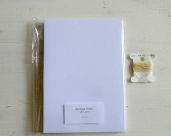 Add-on for the coptic / codex bookbinding kits, extra paper in kit