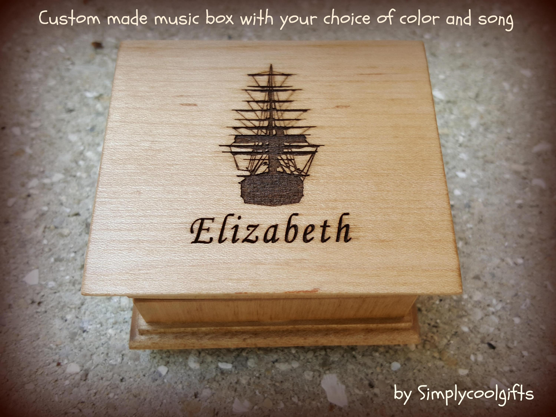 Davy Jones music box, Davy Jones Theme, Pirate of the Caribbean, music  boxes, custom music box, simplycoolgifts, christmas gift, music box