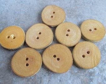 8 Beech Branch Round Buttons