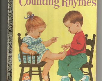 1971 Counting Rymes   A Little Golden Book