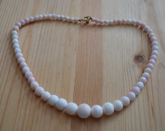 Mediterranean Light Pink  White Coral Graduated Branches Beads 200pcs