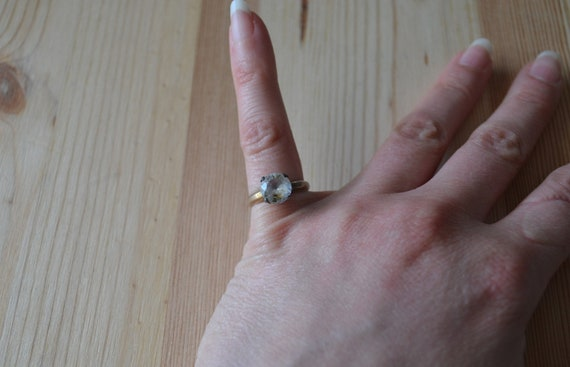 Beautiful antique victorian 10k gold fill & sterl… - image 1
