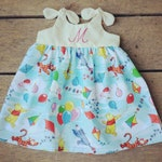 Winnie the pooh dress, baby dress, piglet, tigger, pooh inspired, baby outfit, birthday dress, personalized coming home outfit