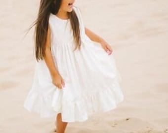 Beach Flower Girl dress, Flower girl dresses,boho flower girl, fairytale wedding, flower girl dress, wanderlust flower girl, bohemian