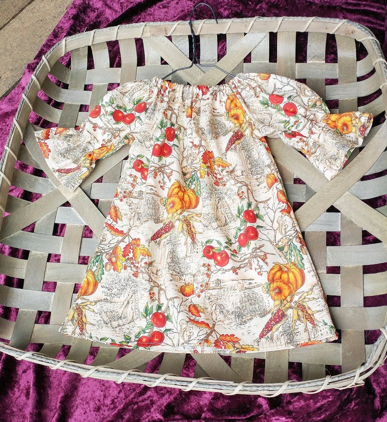 Girls fall Dress baby girls fall outfit pumpkin baby image 0