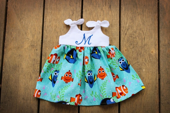 9eca20897d59 Dory Nemo dress Girls Dress Disney inspired outfit baby