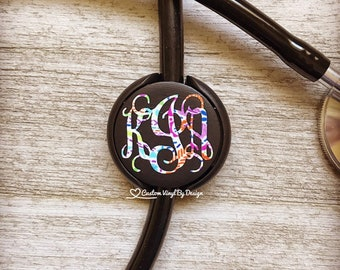 Littman Stethoscope ID Tag - Stethoscope ID Tag - Stethoscope Name Tag - Stethoscope Accessories - RN Gifts - Gift for Nurse - Dr Gift