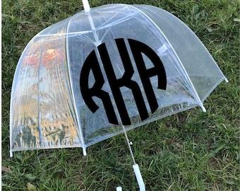 Monogram Umbrella - Personalized Umbrella for Adult