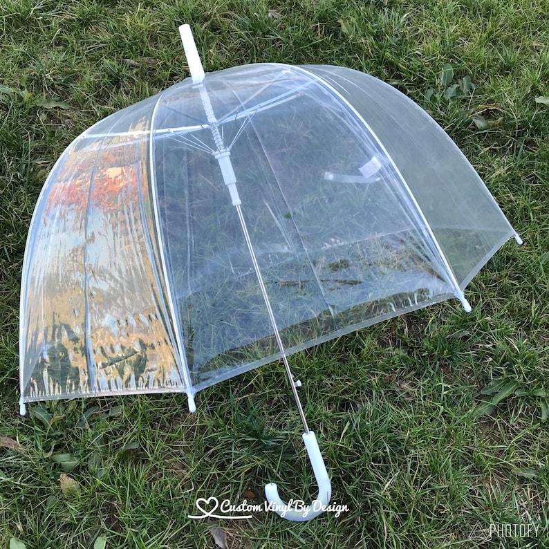 fe7dee29e Clear Dome Umbrella Bubble Umbrella image ...
