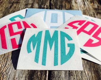 Lifeproof Decal, Lifeproof Monogram Sticker, iPhone Decal Stickers, iPhone Monogram Decal, Phone Decal, Phone Stickers