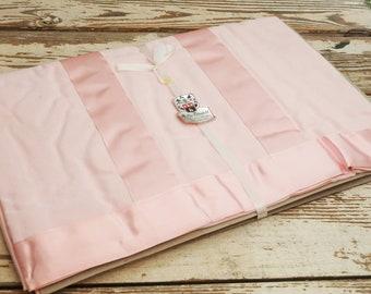 NOS Pink Sheet Full Queen Mollye Lilienfeld New York