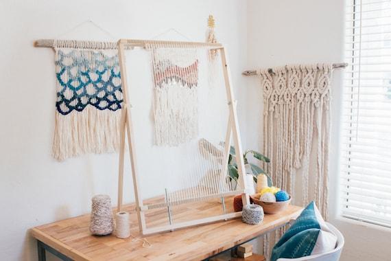XL Adjustable Weaving Loom Weave Tapestry Frame Loom   Etsy