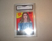 1983 Return of Jedi Empty Wax Pack Wrapper Graded GMA Trading Card Vintage Antiques Collectibles 11290
