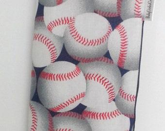 Red White Blue Baseball Seatbelt Cover