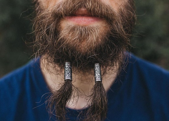 4 styles Stainless Steel Dreadlock Beads dread hair braid beard beads