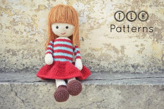 Crochet Doll Pattern Amigurumi Doll Pattern Amigurumi Etsy