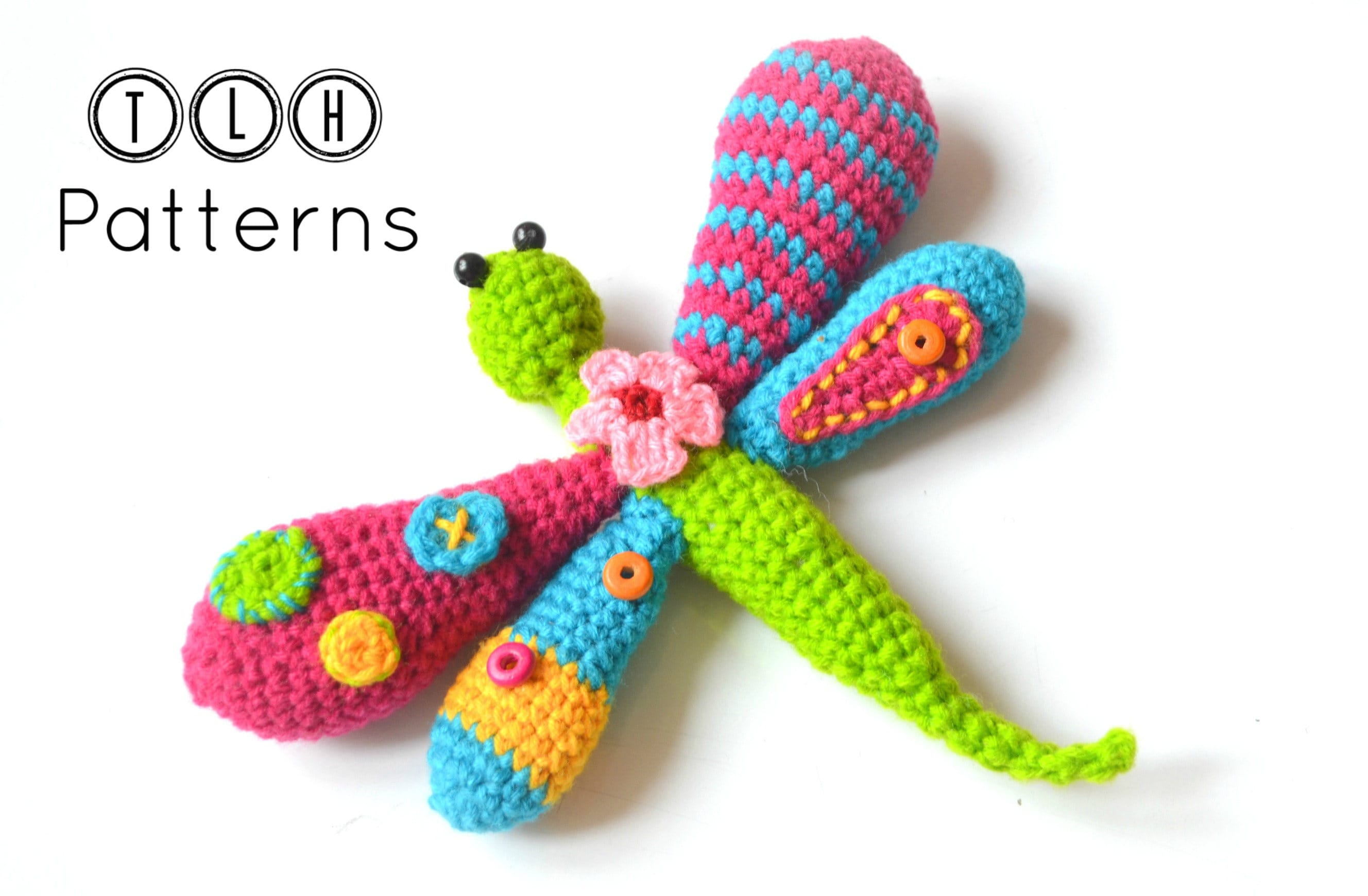 Dragonfly Crochet Pattern Cool Decorating