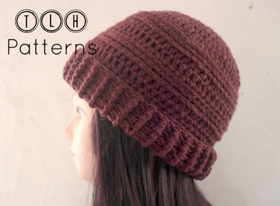 Slouchy Hat Pattern Crochet Hat Pattern Crochet Slouchy Etsy