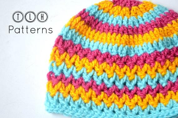 Crochet baby hat pattern crochet hat pattern crochet beanie  44b85501b63