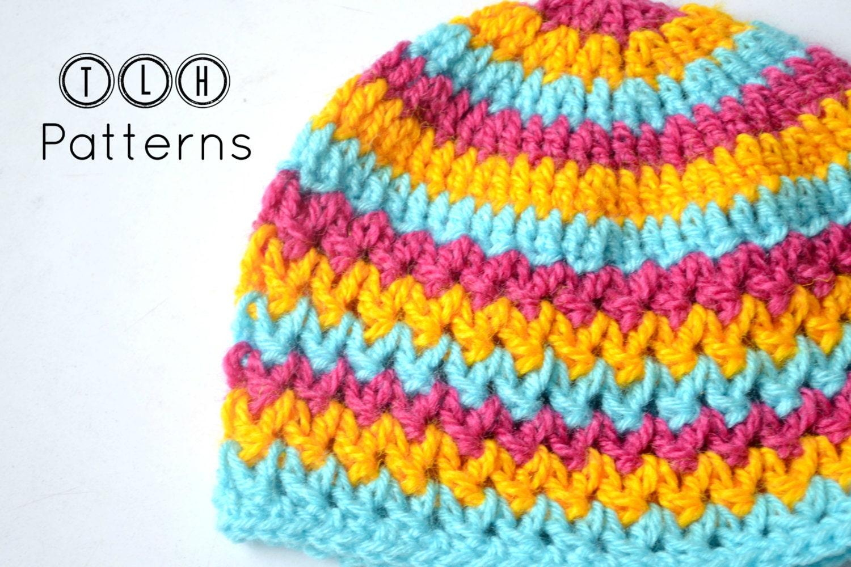 Crochet baby hat pattern crochet hat pattern crochet beanie  96c07e5776e