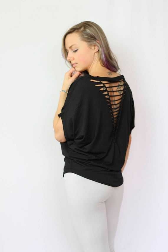Organic Bamboo Relaxed fit braided shirt