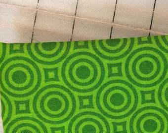 Heather Bailey - FAT QUARTER cut of True Colors - Zen Dot in Green - PWTC039