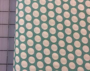 Organic Cotton - FAT QUARTER cut of Mod Basics - Dottie Cream - MB-01-Pool