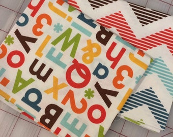 School Days Bundle of 2 Fat Quarter cuts Riley Blake - Zoe Pearn Designs - Set #3