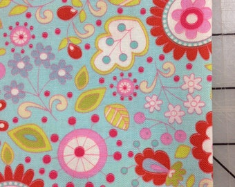 Dena Designs - FAT QUARTER cut of Little Azalea  - Petunia in Red- PWDF173