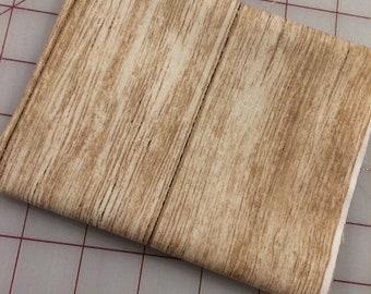 Timeless Treasures - FAT QUARTER cut of Spring Beauty Light Wood Slats