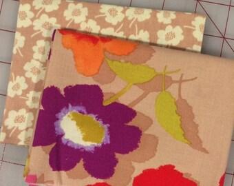 FAT QUARTER Bundle of 2 - Secret Garden by Nel Whatmore - Set #1