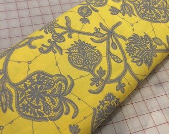 HALF YARD cut of Amy Butler - Lark -  Souvenir - Lemon