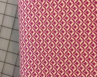 Half Yard cut of Denyse Schmidt - Shelburne Falls - Deco Fans in Lilac - PWDS045 -  100% cotton by Free Spirit