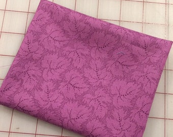 Color Wall - FAT QUARTER cut of Leaf in Lavender Mist by Mary Koval for Windham Fabrics
