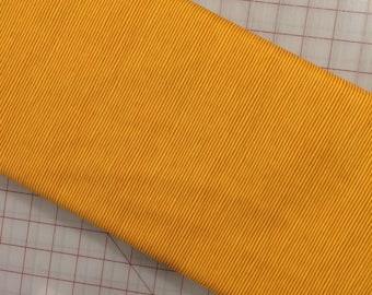 HALF YARD of Sweet Oak by Striped Pear Studio - Stripe in Mustard/Gold - Organic Cotton for Windham Fabrics