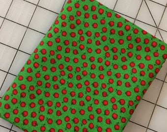 Lancaster by Wyndham Fabrics - FAT QUARTER cut of Apples on Green by Whistler Studios