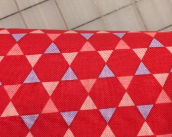 Half Yard cut of Penny Rose - Coming Up Roses - Roses - Hexi in Red  C6272-RED