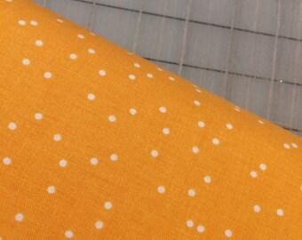 HALF YARD cut of Riley Blake - Rhapsody - Dots in Yellow - C8416 by Sedef Imer