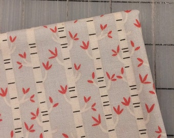 Riley Blake - FAT QUARTER cut of Joey Trees in Gray by Deena Rutter