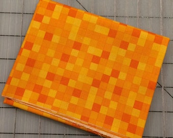 FAT QUARTER cut of Gemstone in Amber by Whistler Studios