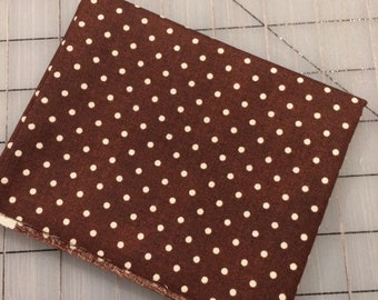 FAT QUARTER cut of Julia - Dots in Brown - Whistler Studios